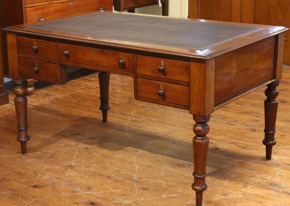 Antique Australian Cedar Desk. Click ... - Antique Australian Cedar Desk  The Merchant - Antique Desks Brisbane Antique Furniture