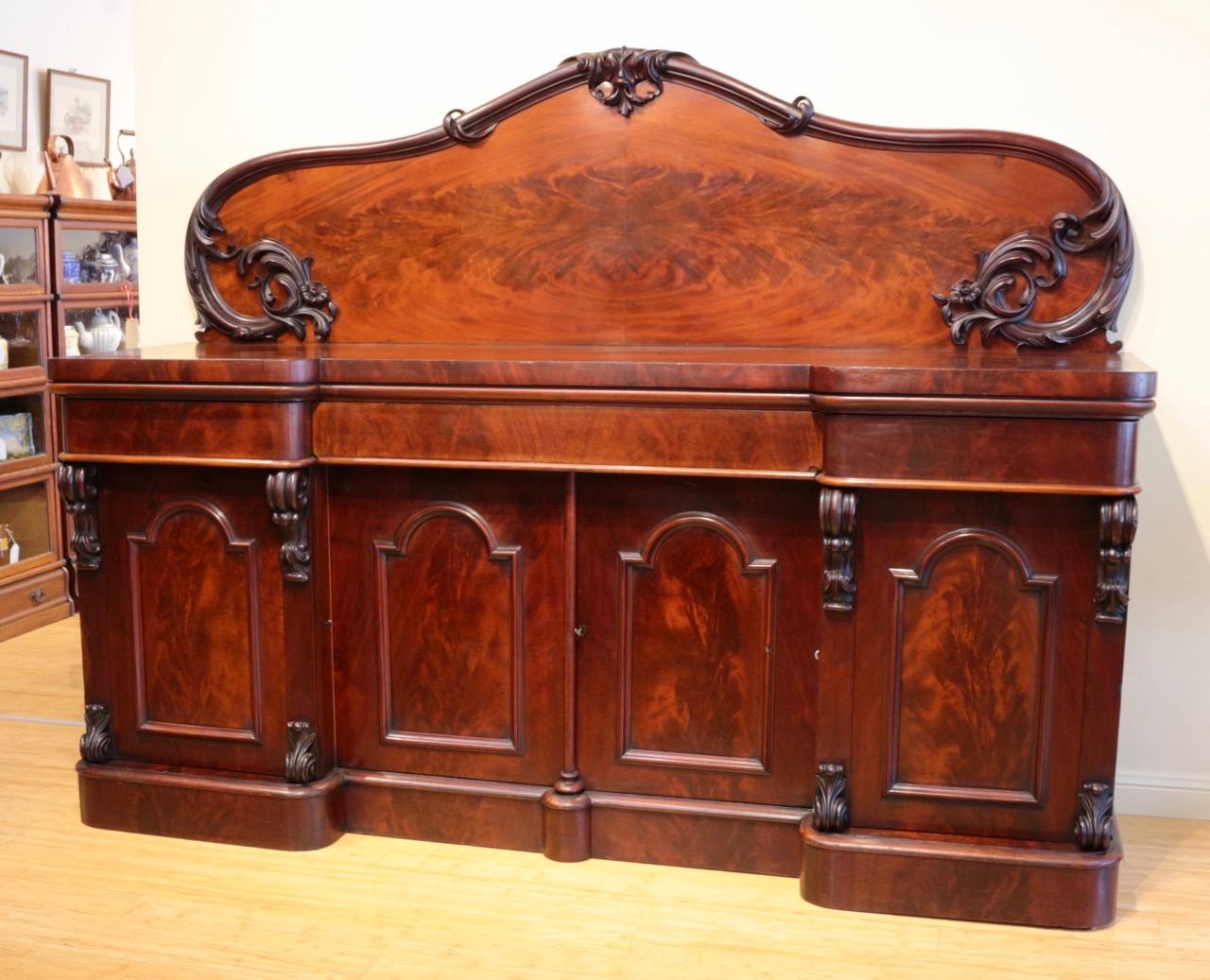 Antique 19th Century Australian Cedar Sideboard The