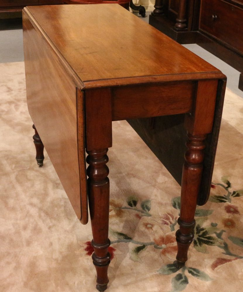 Mid Victorian Drop Side Table