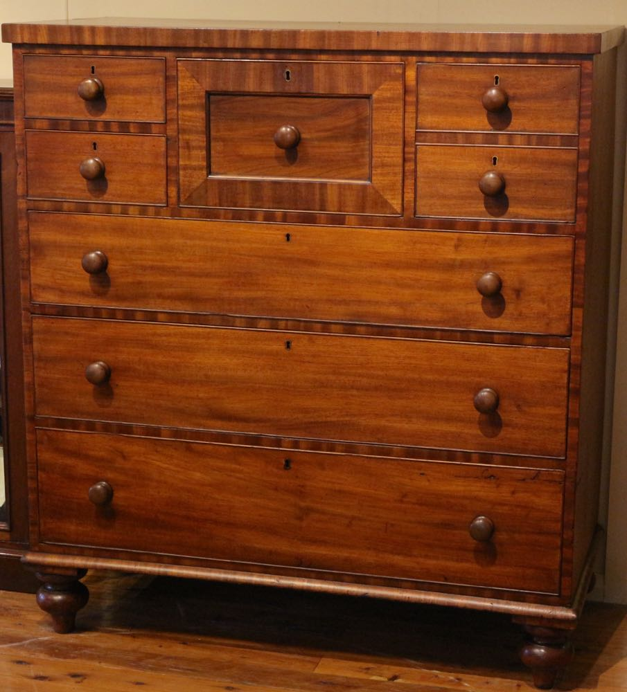 antique australian colonial cedar chest of drawers the merchant of welby