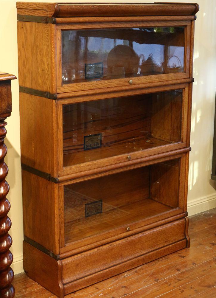 Globe Wernicke Oak Bookcase The Merchant Of Welby