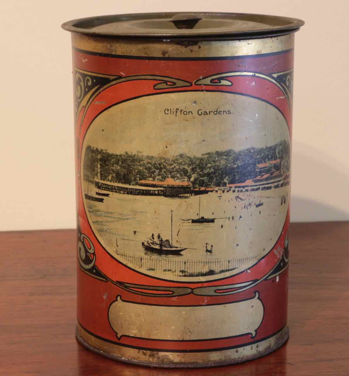 canister sets australia early sydney scenes kitchen canisters set the merchant