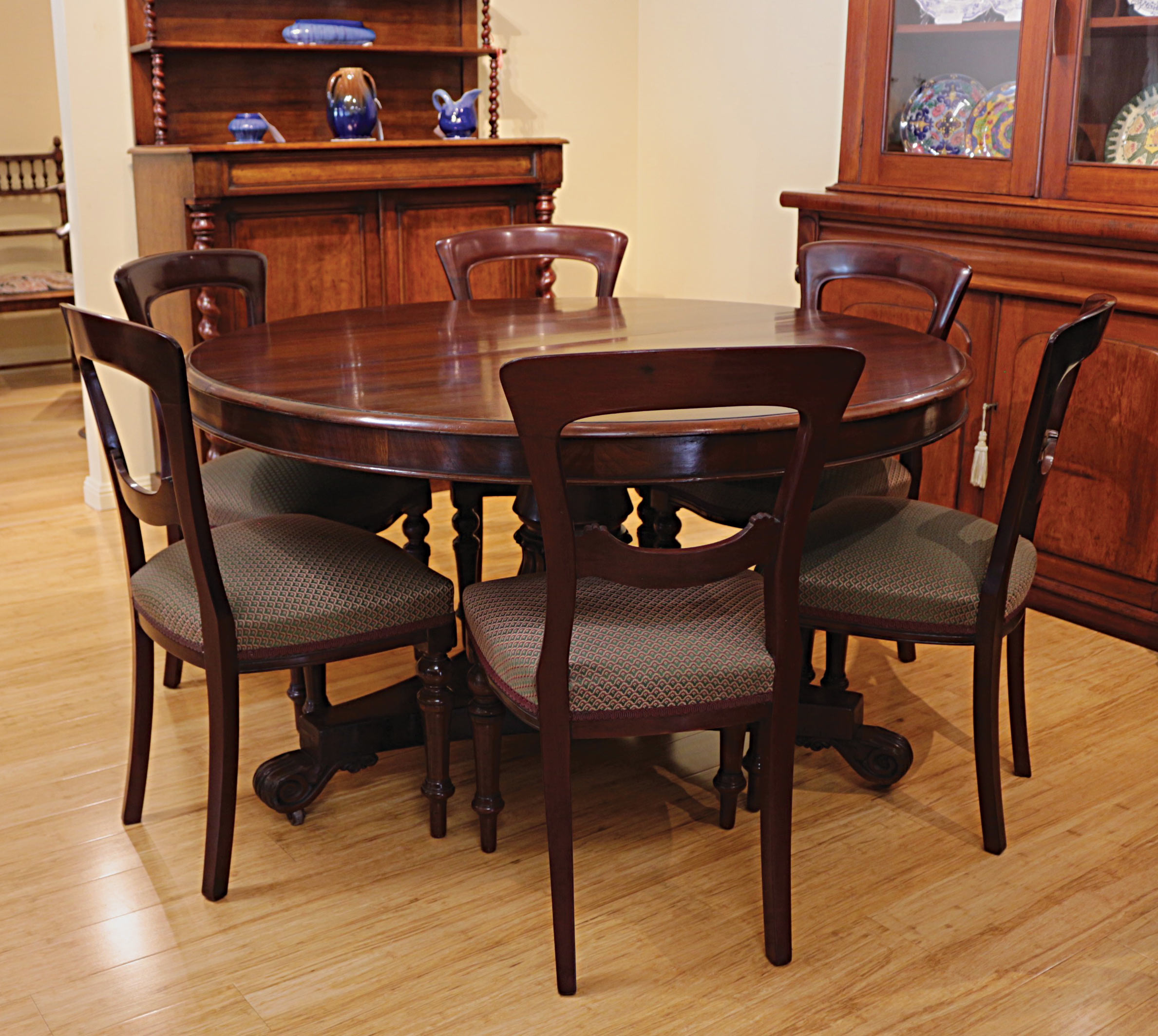 Set Of 6 Victorian Mahogany Dining Chairs The Merchant Of Welby