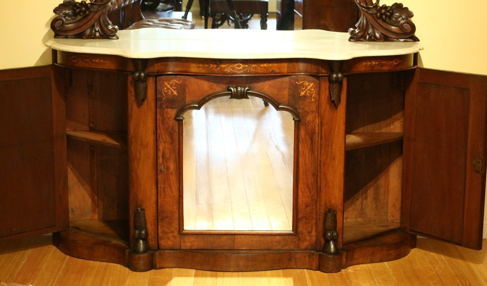 Credenza Per Hume : Victorian walnut credenza the merchant of welby