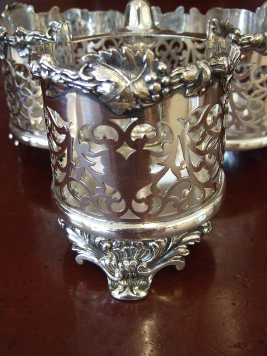 Victorian Cut Crystal Decanter Set The Merchant Of Welby