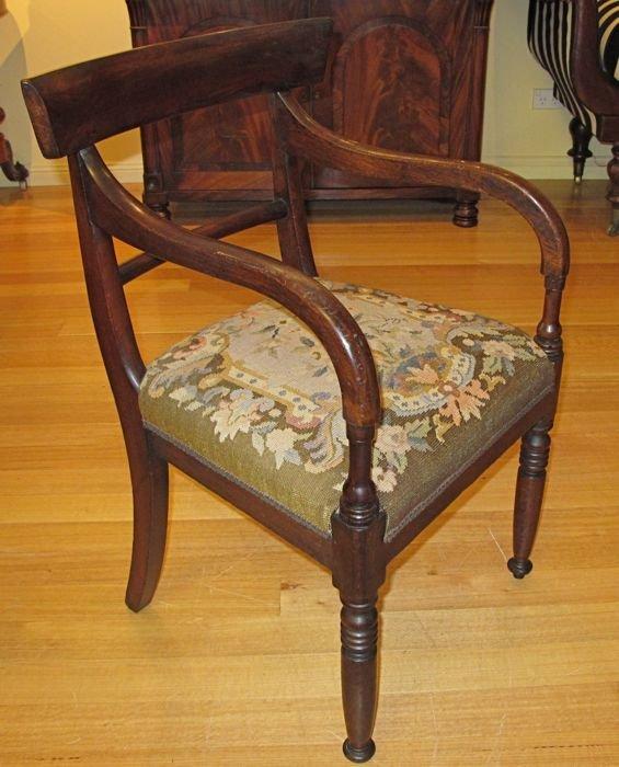 Colonial Armchair: Australian Colonial Cedar Armchair