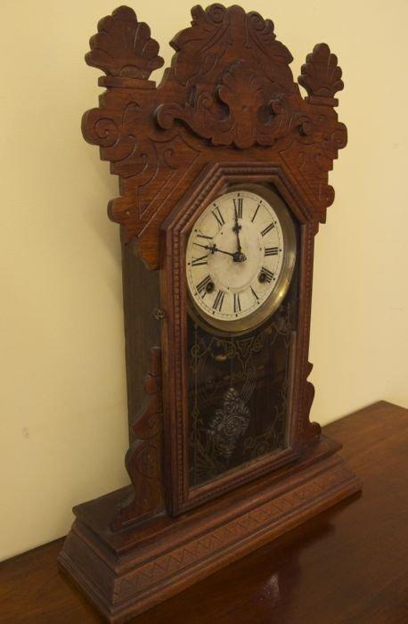 American Waterbury Mantle Clock The Merchant Of Welby
