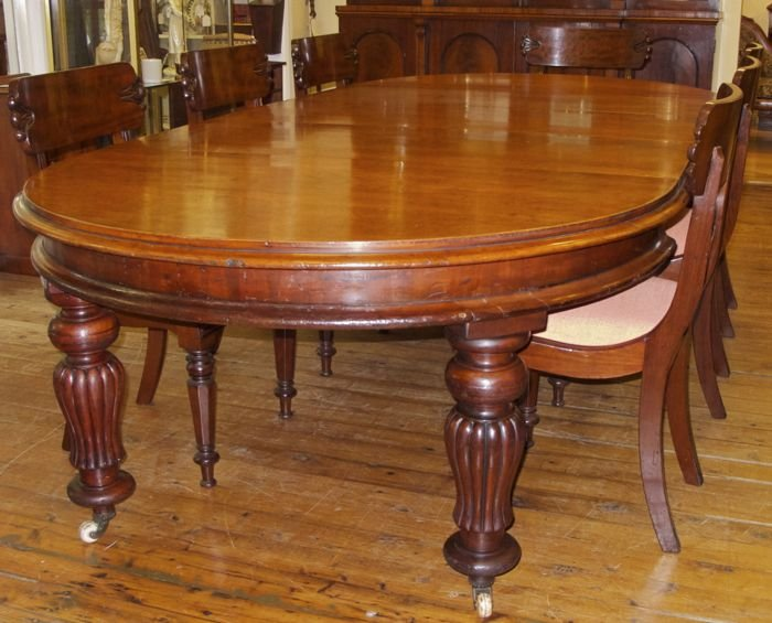 Antique Australian Cedar Banquet Or Dining Table The Merchant Of Welby