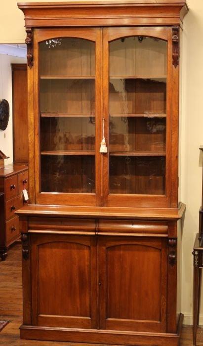 19th Century Australian Cedar Bookcase The Merchant Of Welby