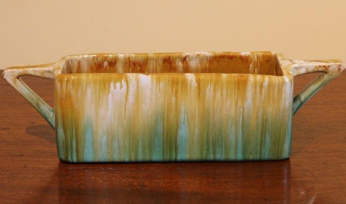 Australian Pottery Trough Vase By John Campbell Of Tasmania The