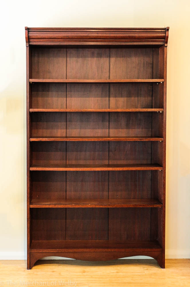 Complete Full Bookcase Daybed With Storage Benchmark Full: Early 20th Century Australian Cedar Open Bookcase